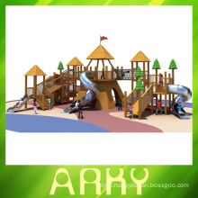 GOOD quality wooden outdoor playgrounds for sale