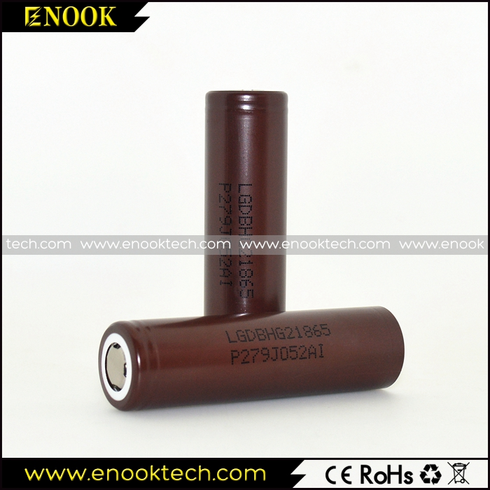 lg 18650 chocolate li-ion battery 3000mah