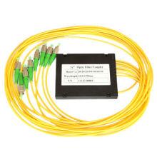Acoplador de fibra óptica St / Upc Fbt de 1 a 7 acoplador de fibra óptica