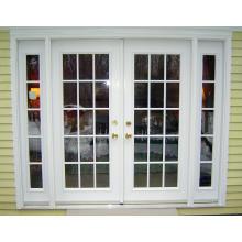PVC Double vitrage Porte à ressort Porte à charnière en PVC