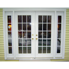 PVC Double Glazed Floor Spring Door PVC Spring Hinge Door