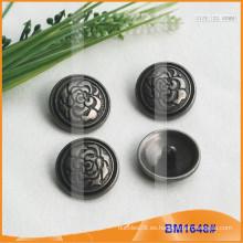 Botón de aleación de zinc y botón de metal y botón de costura de metal BM1648