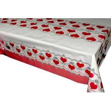 Pvc Impreso mesa cubierta cubre Seater manteles ovalados