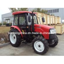 2WD 40HP y 55HP agricultura Tractor de ruedas / tractores agrícolas Dq400