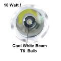 1000lumen T6 Lâmpada LED Submarino Mergulho Lanterna Branco viga Subaquática Tocha