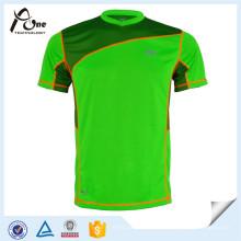 Одежда для фитнеса 100% полиэстер Футболка Одежда для фитнеса