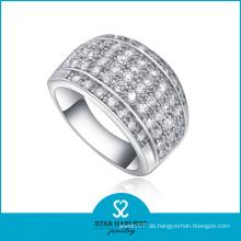Silber Hochzeit Schmuck Mode Ring für Mann (SH-R0058)