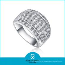 Anel de prata da forma da jóia do casamento para o homem (SH-R0058)