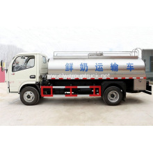 Dongfeng small 4x2 milk carrier truck