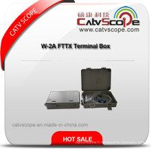 Boîte à bornes W-2b FTTX de haute qualité