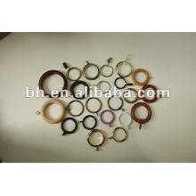 Горячие продажи пластиковых и металлических занавес кольцо красочные занавески занавес