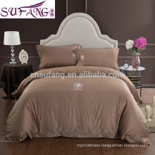 2017 Alibaba Supplier Egyptian Cotton Bed Home Long Staple Cotton Fabric Bedding