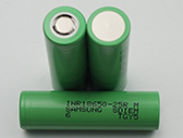 simple flashlight Lithium Ion Rechargeable 18650 battery