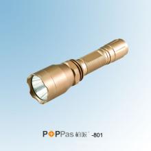 180lumens Lanterna elétrica da polícia do CREE Q5 LED do poder superior (POPPAS- 801)
