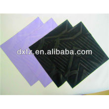 embossed logo microfiber lens cleaning cloth