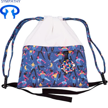 Drawstring conception monogramme toile BBB 0 sac