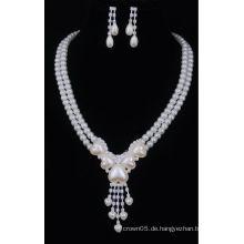 Alibaba Großhandel Perlen Halsketten-Sets in China gemacht