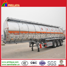 Semi Aluminium Tank Truck Trailer for Water/Milk Transport