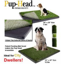 Indoor Pup-Head Portable Pet Potty Dog Toilette
