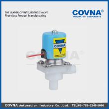 Válvula solenóide de plástico de duas vias de ação direta para sistema RO