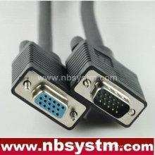 Db15 pin cable hdb 15 pines macho a hembra VGA cable svga cable