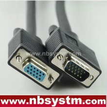 Câble db15 broche hdb Câble VGA à 15 broches mâle à femelle câble svga