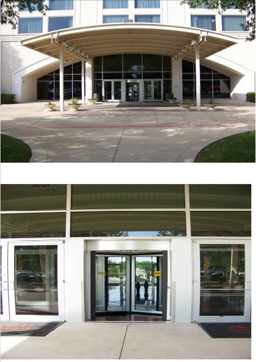 Classic Three-wing Revolving Doors with Three Modes