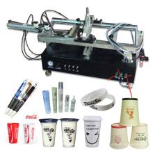 Semi Automatische Grade Runde Produkte Einzelne Farbe Flasche Siebdruckmaschine