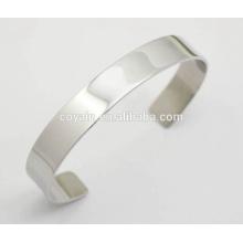 Novos produtos Bracelete de alta qualidade Bracelete de aço inoxidável 316L Bracelete de aço inoxidável
