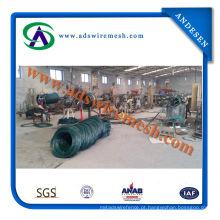 Fio de ferro galvanizado revestido colorido maioria do PVC para o gancho (fabricante)