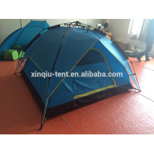 fast easy open automatic pole tent