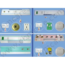 Medical Bed Head Panels with Different Gas Outlets