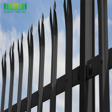 high quality hot dipped galvanized palisade fence