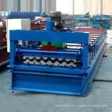 XN-750 Hangzhou venta caliente manual de acero metal techo / color de la pared hoja de azulejo de acero rollo que forma la fabricación de la máquina