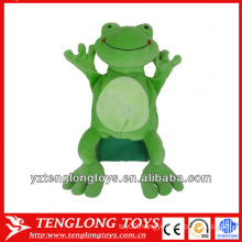 new type stuffed plush frog hand puppets
