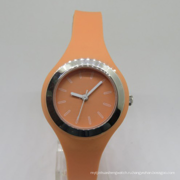 Роскошные Японии Movt Sikucone Пластиковых Девушки Наручные Часы
