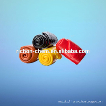 Caoutchouc fluoré fluoré de haute qualité de composé de caoutchouc de silicone de FVMQ de fluorure de silicone de haute performance