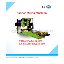 Planner Milling Machine preço para a venda quente oferecido pelo tipo de plaina pórtico Fresadora