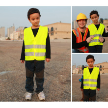 Children′s Safety Vest of 100%Polyester Knitting Fabric