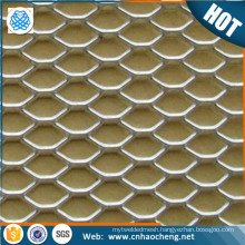 Titanium expanded metal mesh screen