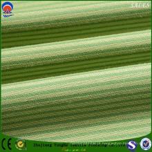 Poliéster Flame-Resistant Light-Tight flocagem tecido para cortina e sofá Uso