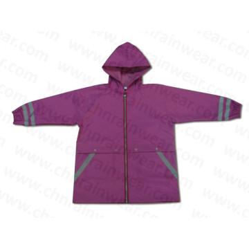 Waterproof PVC Children Rain Poncho / Kids Raincoats