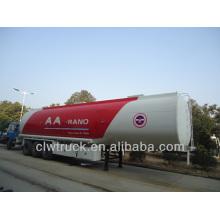 2015 Fábrica Venta de remolque del tanque de combustible de 50m3 semirremolque del tanque de combustible del eje 3 para la venta