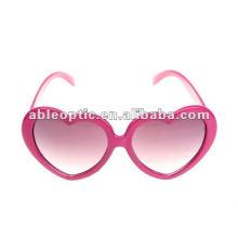 2013 linda moda natal em forma de coração óculos de sol de festa