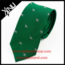 Shengzhou Manufacturer Silk Woven Logo Cartoon Necktie