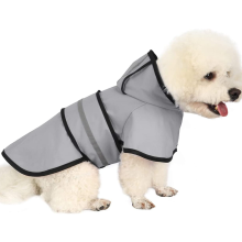 Hooded Pet Dog Raincoat