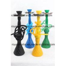 Heißer Verkauf Kunststoff Basis Medium Mix Farbe Silikon Shisha Shisha