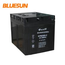 bateria solar do gel bateria solar do jiuhua da bateria 12v 200ah
