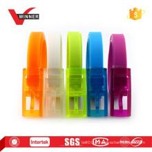 Cinturões plásticos coloridos novos do silicone do projeto