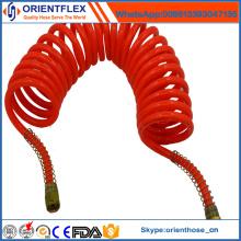 Melhor qualidade PU Air Brake Mangueira de bobina com acessórios
